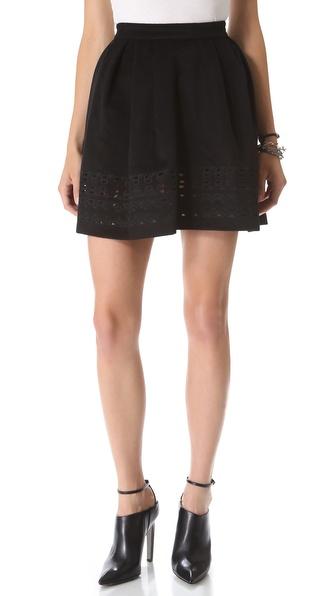 Catherine Malandrino Alaine Cutout Skirt