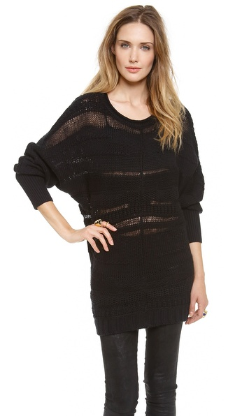 Catherine Malandrino Abijah Boat Neck Sweater