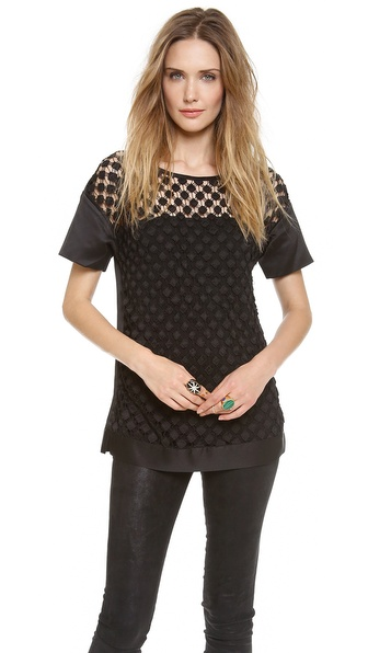 Catherine Malandrino Amaia Diamond Top