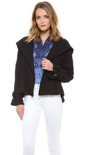 Catherine Malandrino Calista Hooded Coat