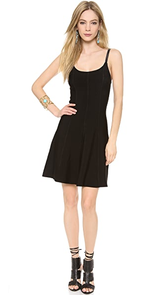 Catherine Malandrino Fit & Flare Knit Dress