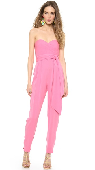 Catherine Malandrino Favorites Strapless Jumpsuit