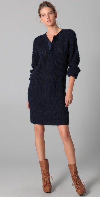 Chris Benz Sweater Dress