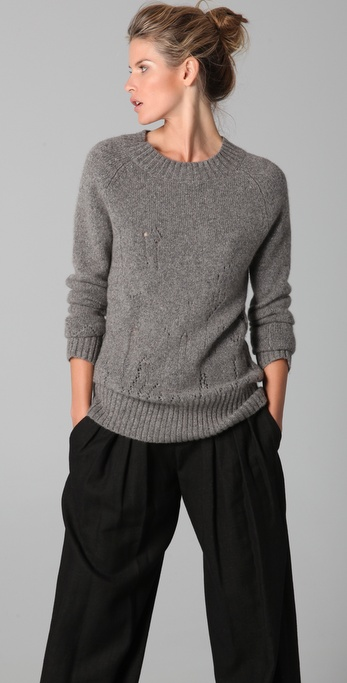 Chris Benz Houston Cashmere Sweater