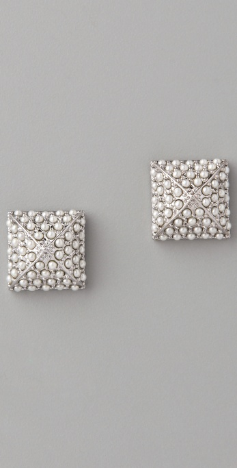 CC SKYE Pearl Stud Earrings
