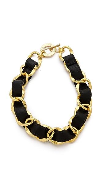 CC SKYE Double Wrap Woven Bracelet