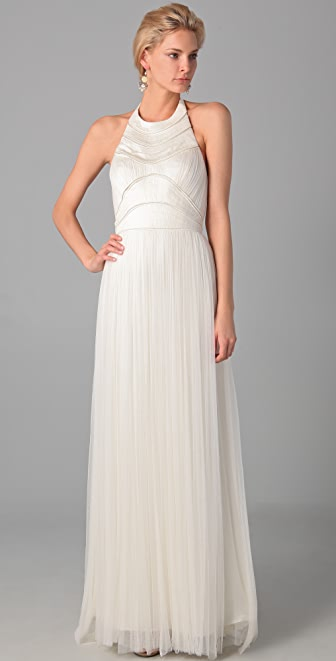 Catherine Deane Krissie Long Panel Dress