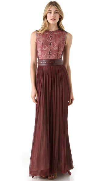 Catherine Deane Mira Sleeveless Gown