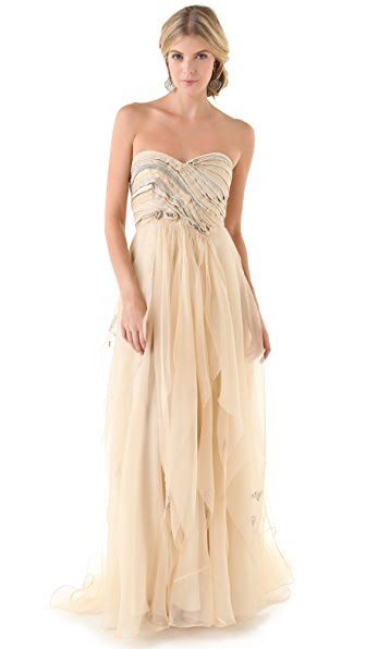 Catherine Deane Giselle Strapless Gown