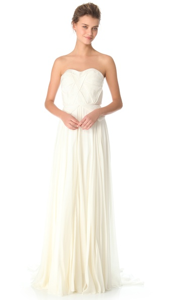 Catherine Deane Nanette Strapless Gown