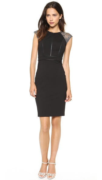 Catherine Deane Vanya Cap Sleeve Dress