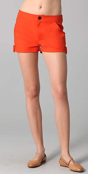 Derek Lam 10 Crosby Cuffed Shorts