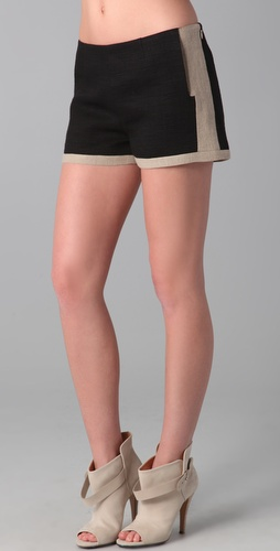 10 Crosby Derek Lam Side Zip Shorts