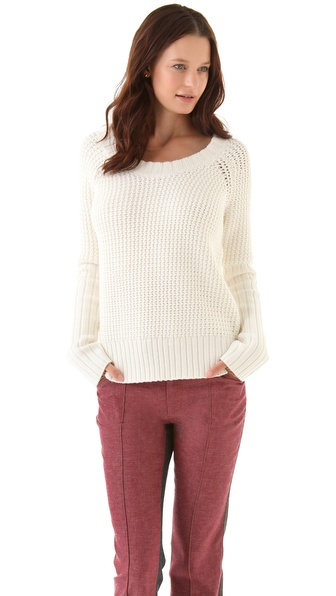10 Crosby Derek Lam U Neck Sweater