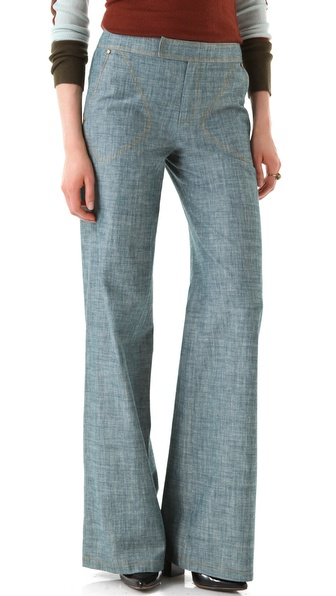 10 Crosby Derek Lam Chambray Pants