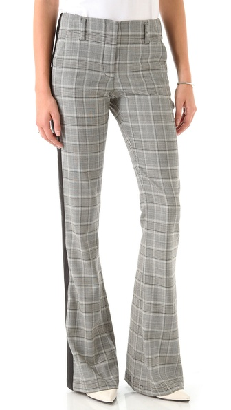 10 Crosby Derek Lam Houndstooth Tuxedo Pants