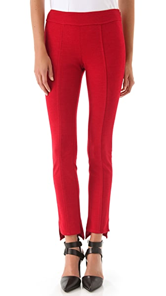 Derek Lam 10 Crosby Wool Jersey Leggings