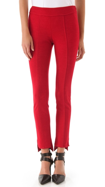 10 Crosby Derek Lam Wool Jersey Leggings