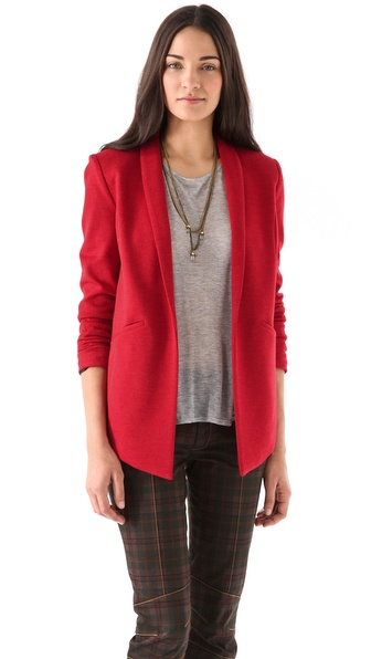10 Crosby Derek Lam Shawl Collar Blazer