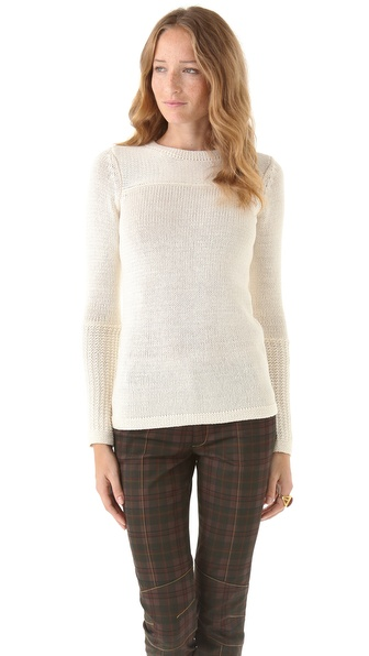10 Crosby Derek Lam Chunky Crew Neck Sweater