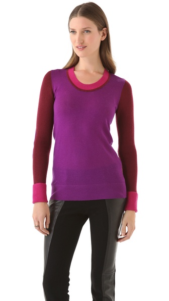 10 Crosby Derek Lam Colorblock U Sweater