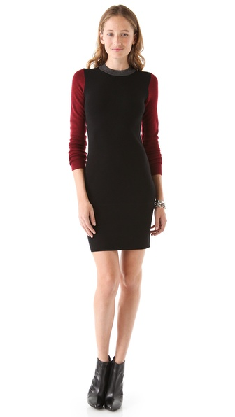 10 Crosby Derek Lam Colorblock Sweater Dress