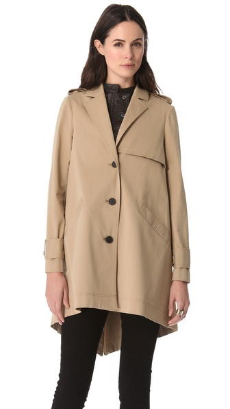 10 Crosby Derek Lam Cape Trench