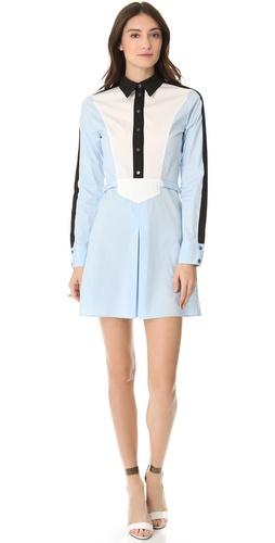 10 Crosby Derek Lam Colorblock Shirtdress