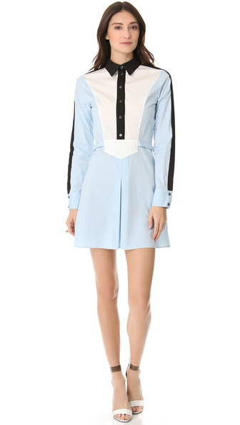 10 Crosby Derek Lam Colorblock Shirtdress