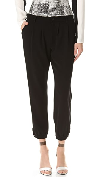 Derek Lam 10 Crosby Cinched Ankle Pants