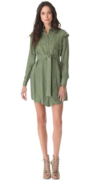 10 Crosby Derek Lam Belted Shirtdress