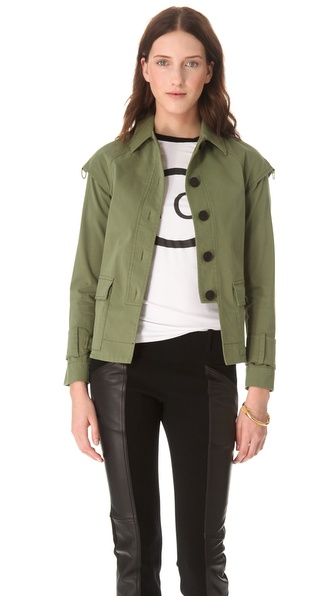 10 Crosby Derek Lam Drop Shoulder Jacket