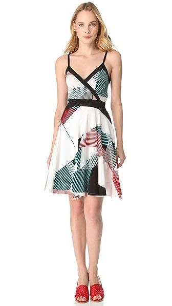 Derek Lam 10 Crosby Crisscross Dress