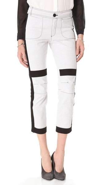 10 Crosby Derek Lam Double Face Cropped Pants