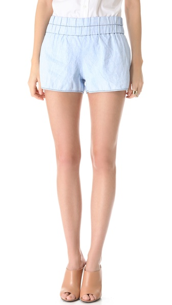 10 Crosby Derek Lam Chambray Boxer Shorts