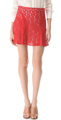 10 Crosby Derek Lam Eyelet Tulip Skirt