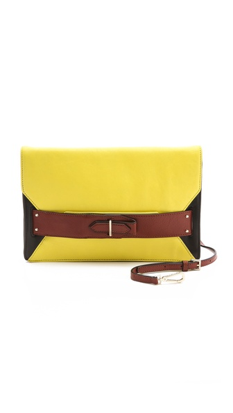 10 Crosby Derek Lam Colorblock Folio Clutch