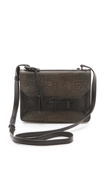 10 Crosby Derek Lam Ombre Lizard Mini Bag