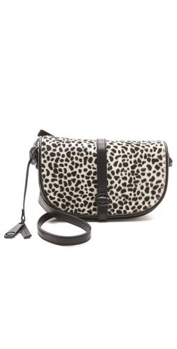 10 Crosby Derek Lam Leopard Lola Haircalf Bag