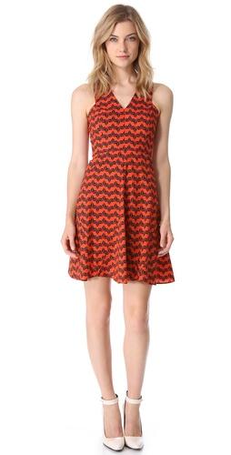 10 Crosby Derek Lam Sleeveless Godet Dress