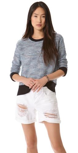 10 Crosby Derek Lam Side Slit Sweater