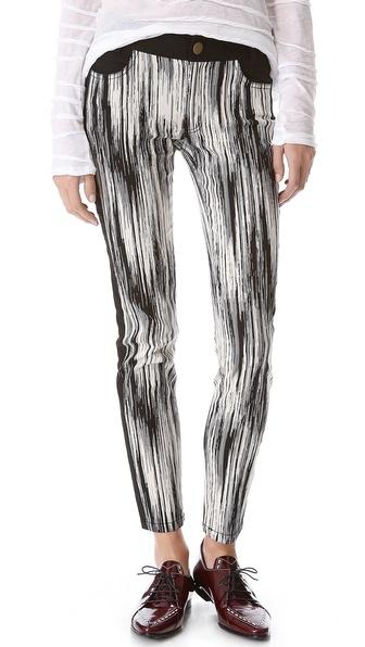 10 Crosby Derek Lam Slim Tuxedo Stripe Pants
