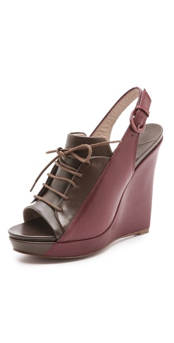 10 Crosby Derek Lam Gi Bicolor Wedges - Shopbop