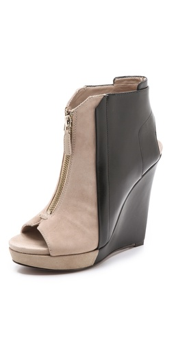 10 Crosby Derek Lam Gen Bicolor Wedge Booties - Shopbop