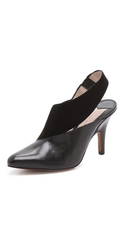 10 Crosby Derek Lam Vira Asymmetrical Pumps - Shopbop