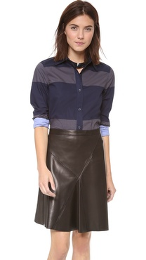 10 Crosby Derek Lam Long Sleeve Blouse