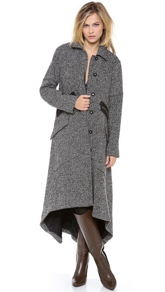 10 Crosby Derek Lam Tweed Cape Coat