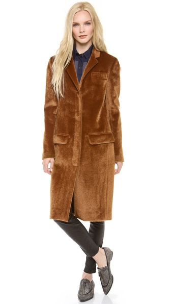 10 Crosby Derek Lam Faux Haircalf Coat
