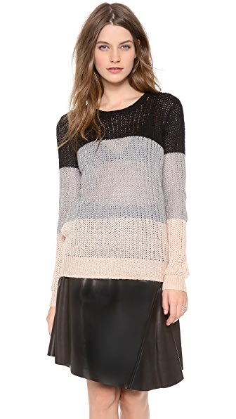 Derek Lam 10 Crosby Colorblock Sweater