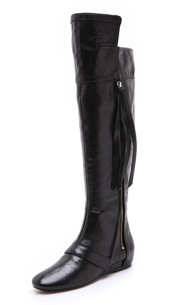 10 Crosby Derek Lam Loden Cuff Tall Boots
